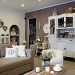 Lawendowe mieszkanie stylu prowansalskiego