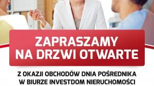 Plakat Investdom NIeruchomośći