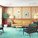 Design mieszkania w stylu PRL