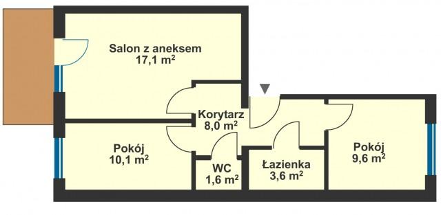 Mieszkanie na sprzedaż Kędzierzyn-Koźle - 2