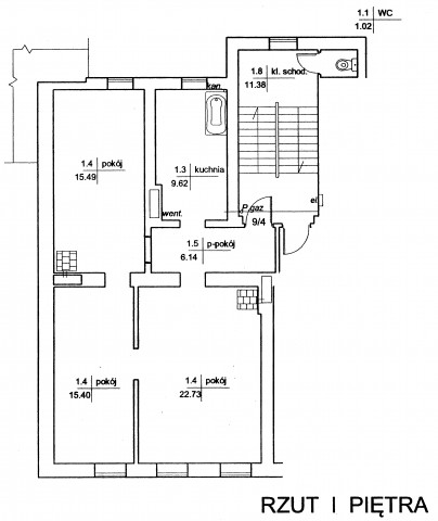 Mieszkanie na sprzedaż Kluczbork - 2