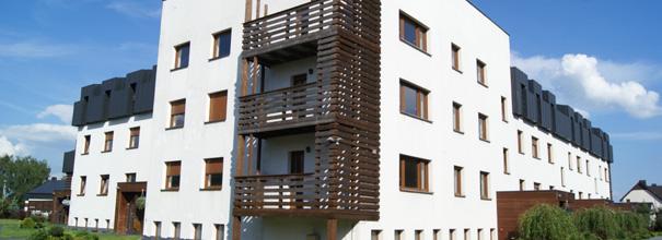 Apartamentowiec Zacisze w Januszkowicach