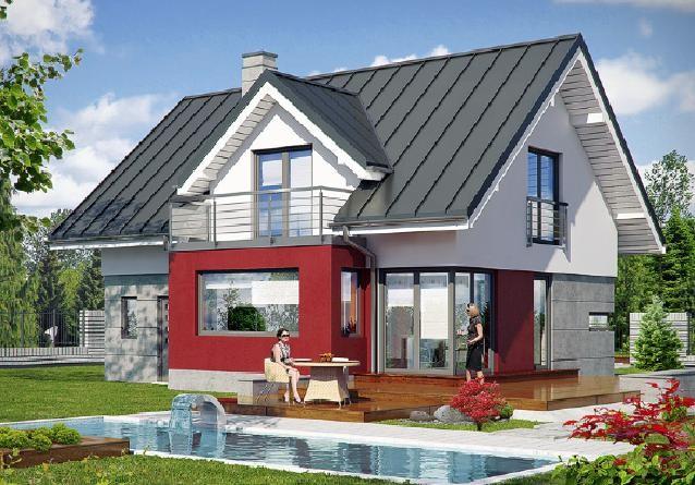 haus zu verkaufen zawada turawa 4 zimmer 132m2 679000z investdom nieruchomo ci. Black Bedroom Furniture Sets. Home Design Ideas